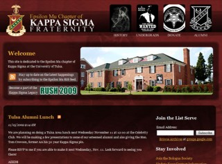 fraternity website