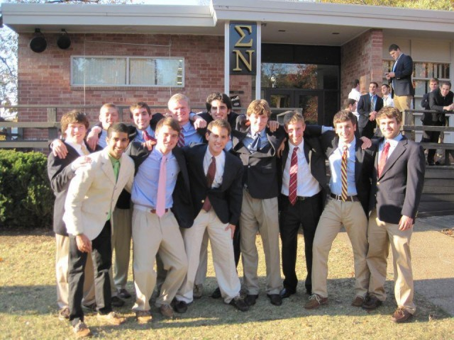 Two Fraternity Recruitment Classes