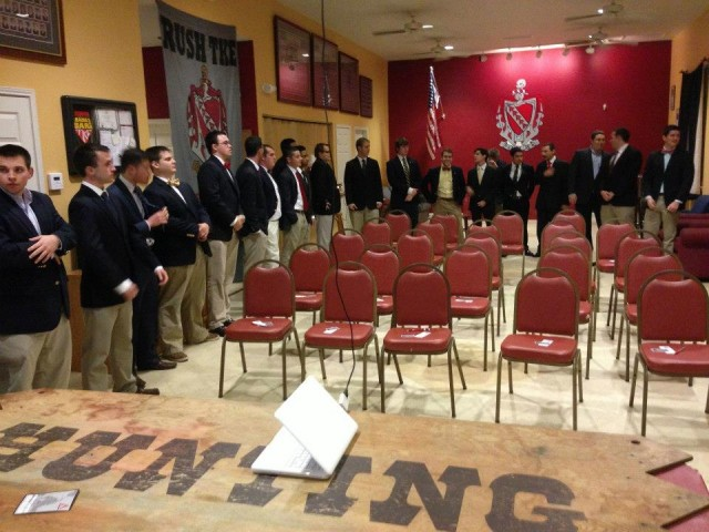 How to Give Fraternity Bids