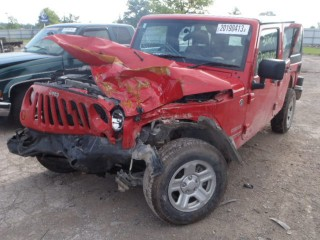red jeep